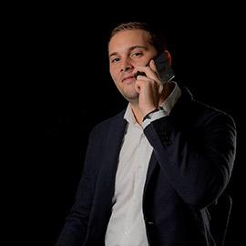 Maxime Virot, référent de l'activité web à l'Adico
