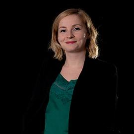 Charlotte Hamm, Assistante du pôle confiance numérique à l'Adico