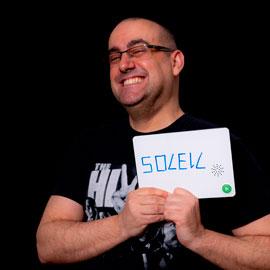 Un avatar représentant Christophe Manine, technicien à l'Adico