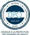 Logo de la solution Conformité RGPD / DPO, proposée par l'Adico