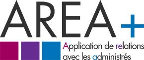 Logo de Area+, une solution de l'Adico permettant de gérer les relations avec les administrés